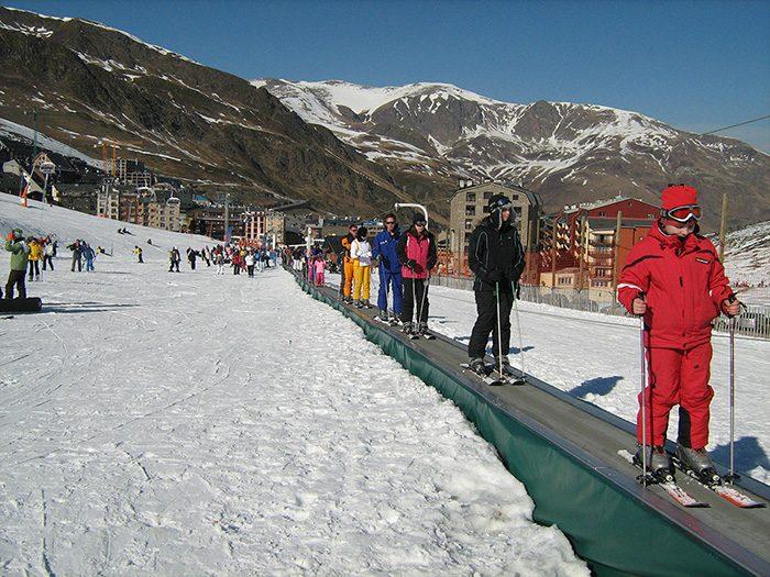 Skilaufbänder – Standard-Band