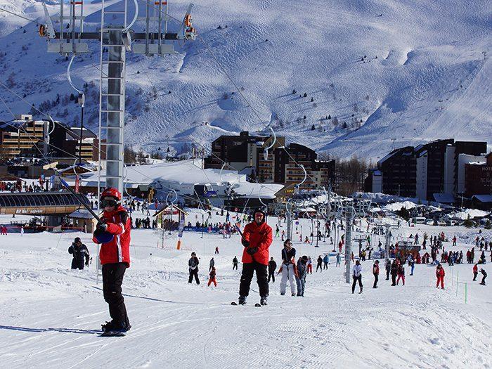 Rif Nel ski lift – L'Alpe d'Huez (France)