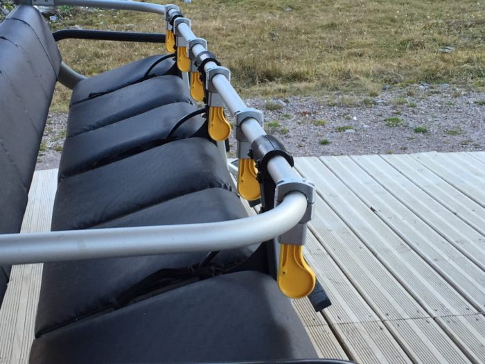 """SAFETY KID"", the safety system for chairlift"